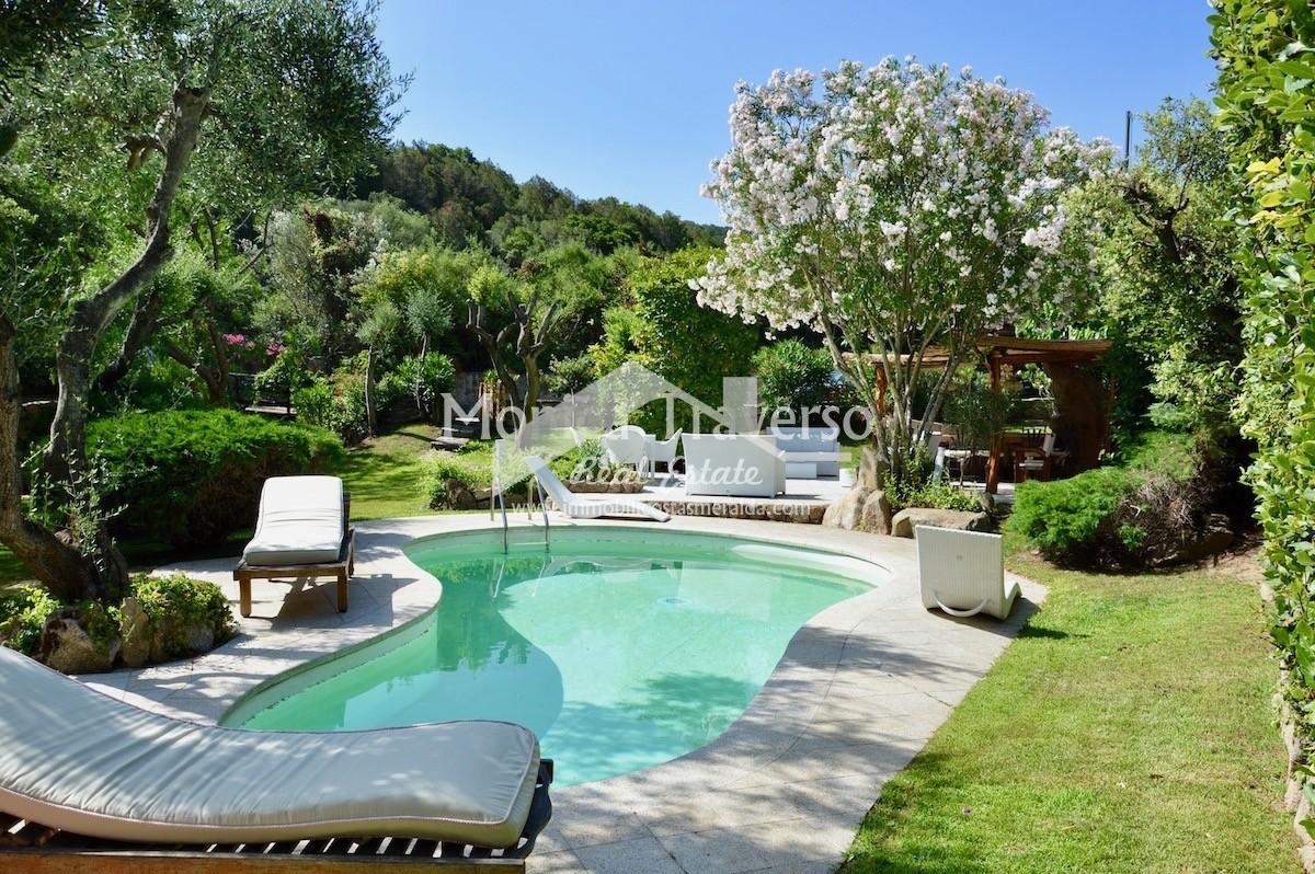 Prestigiosa villa con piscina Porto Cervo