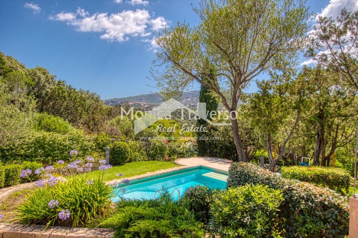 Villa con piscina Cala dei Ginepri